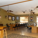 Dining area for the hunters