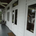 Three sets of french doors