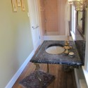 Mountcastle Private Bath with tile shower and small tub