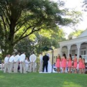 A recent wedding at the Snowden House