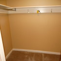 One of two master closets