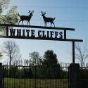 White Cliffs Ranch north entrance