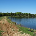 Levee for the 16 ac lake