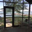 View of the lake from the porch